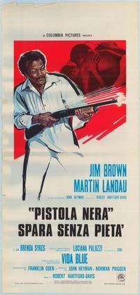 Black Gunn - 27 x 40 Movie Poster - Italian Style A