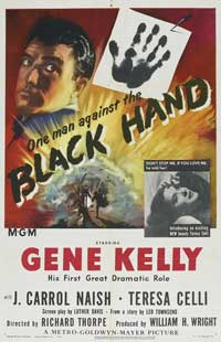 Black Hand - 11 x 17 Movie Poster - Style C
