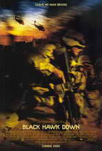 Black Hawk Down - 27 x 40 Movie Poster - Style B