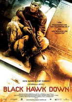 Black Hawk Down - 27 x 40 Movie Poster - German Style A