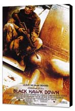 Black Hawk Down - 11 x 17 Movie Poster - Style A - Museum Wrapped Canvas