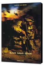 Black Hawk Down - 11 x 17 Movie Poster - Style B - Museum Wrapped Canvas