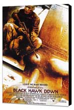 Black Hawk Down - 27 x 40 Movie Poster - Style A - Museum Wrapped Canvas
