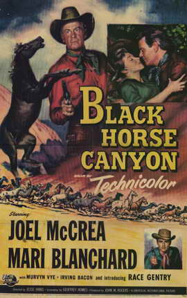 Black Horse Canyon - 11 x 17 Movie Poster - Style A
