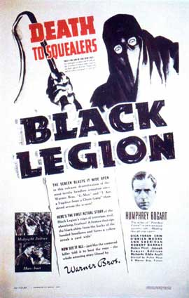 Black Legion - 11 x 17 Movie Poster - Style B