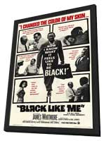 Black Like Me - 11 x 17 Movie Poster - Style A - in Deluxe Wood Frame