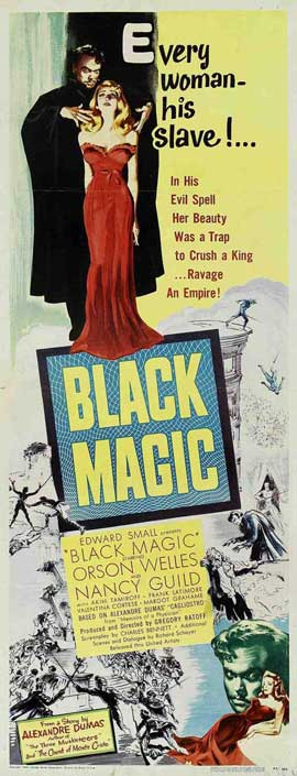 Black Magic - 14 x 36 Movie Poster - Belgian Style A
