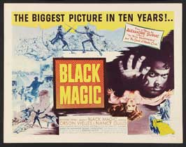 Black Magic - 22 x 28 Movie Poster - Half Sheet Style A