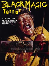 Black Magic Terror - 43 x 62 Movie Poster - Bus Shelter Style A