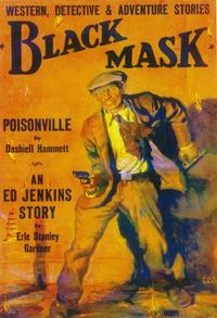 Black Mask (Pulp) - 11 x 17 Pulp Poster - Style A
