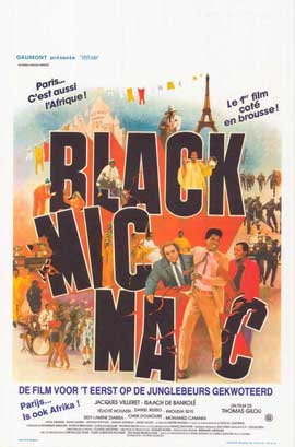 Black Mic Mac - 27 x 40 Movie Poster - Belgian Style A