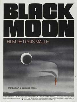 Black Moon - 27 x 40 Movie Poster - French Style A