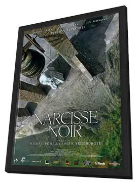Black Narcissus - 11 x 17 Movie Poster - French Style A - in Deluxe Wood Frame