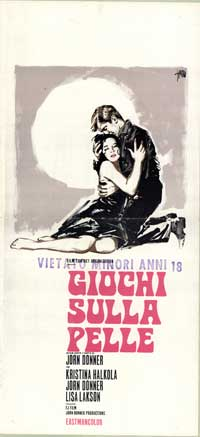 Black on White - 13 x 28 Movie Poster - Italian Style A