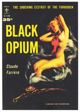 Black Opium - 11 x 17 Retro Book Cover Poster