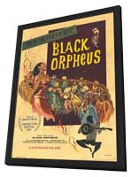 Black Orpheus - 11 x 17 Movie Poster - Style B - in Deluxe Wood Frame