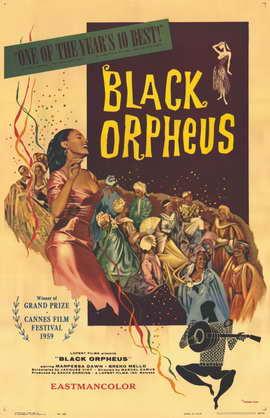 Black Orpheus - 11 x 17 Movie Poster - Style B