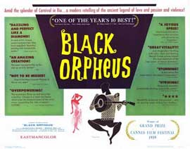 Black Orpheus - 22 x 28 Movie Poster - Half Sheet Style A