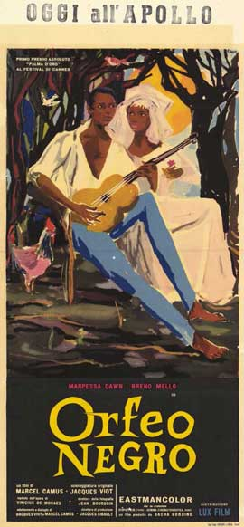 Black Orpheus - 11 x 17 Movie Poster - Italian Style A