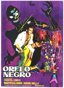 Black Orpheus - 11 x 17 Movie Poster - Spanish Style A