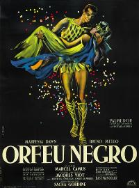 Black Orpheus - 43 x 62 Movie Poster - French Style A