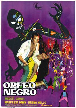 Black Orpheus - 43 x 62 Movie Poster - Spanish Style A