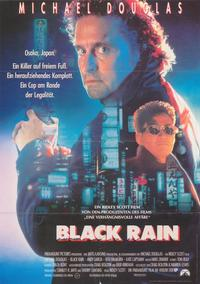 Black Rain - 43 x 62 Poster - Foreign - Bus Shelter Style A