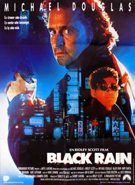 Black Rain - 27 x 40 Movie Poster - Danish Style A