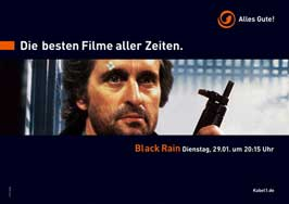 Black Rain - 11 x 17 Movie Poster - German Style B