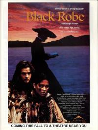 Black Robe - 27 x 40 Movie Poster - Style C