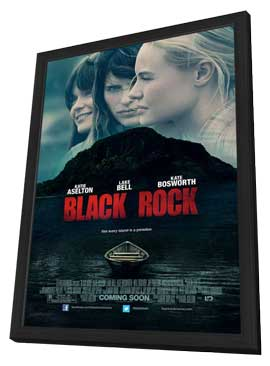 Black Rock - 27 x 40 Movie Poster - Style A - in Deluxe Wood Frame