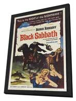 Black Sabbath - 11 x 17 Movie Poster - Style A - in Deluxe Wood Frame