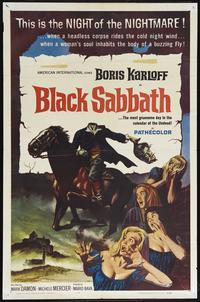 Black Sabbath - 43 x 62 Movie Poster - Bus Shelter Style A