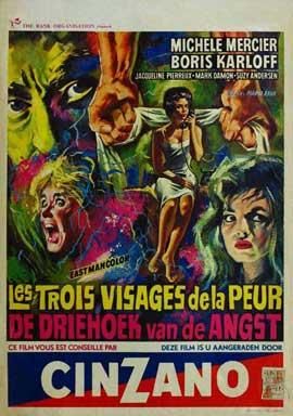 Black Sabbath - 11 x 17 Movie Poster - Belgian Style A