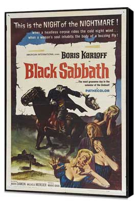 Black Sabbath - 11 x 17 Movie Poster - Style A - Museum Wrapped Canvas