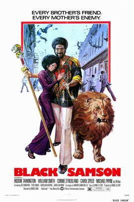 Black Samson - 11 x 17 Movie Poster - Style A