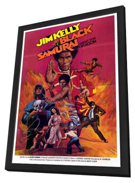 Black Samurai - 27 x 40 Movie Poster - Style A - in Deluxe Wood Frame