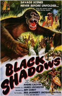 Black Shadows - 11 x 17 Movie Poster - Style A