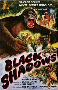 Black Shadows - 43 x 62 Movie Poster - Bus Shelter Style A
