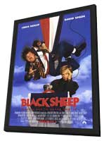 Black Sheep - 11 x 17 Movie Poster - Style A - in Deluxe Wood Frame