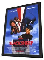 Black Sheep - 27 x 40 Movie Poster - Style A - in Deluxe Wood Frame