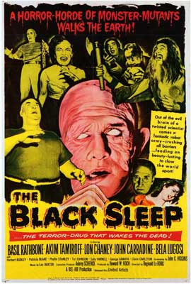 Black Sleep - 27 x 40 Movie Poster - Style A