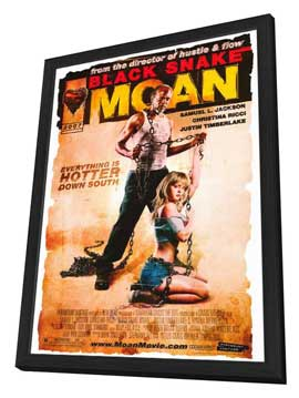 Black Snake Moan - 11 x 17 Movie Poster - Style A - in Deluxe Wood Frame