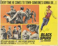 Black Spurs - 11 x 14 Movie Poster - Style A