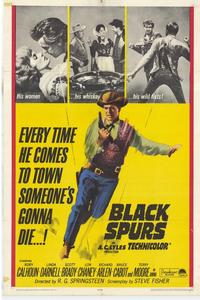 Black Spurs - 11 x 17 Movie Poster - Style A