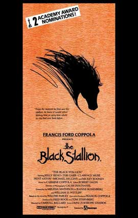 The Black Stallion - 11 x 17 Movie Poster - Style B
