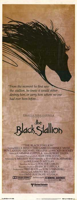 The Black Stallion - 14 x 36 Movie Poster - Insert Style A