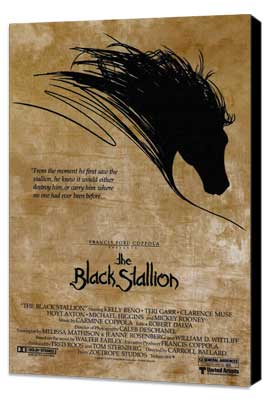 The Black Stallion - 27 x 40 Movie Poster - Style A - Museum Wrapped Canvas
