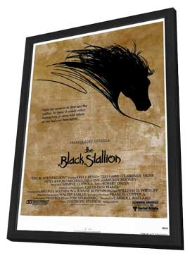 The Black Stallion - 11 x 17 Movie Poster - Style A - in Deluxe Wood Frame