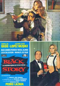 Black Story - 11 x 17 Movie Poster - Spanish Style A